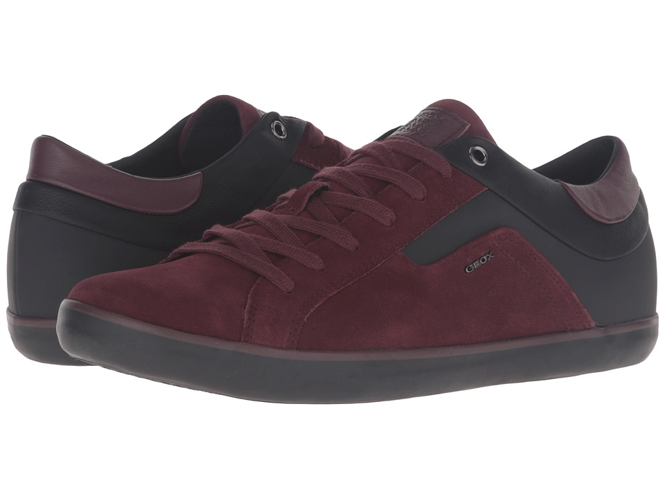 Geox - MBOX23 (Burgundy/Black) Men's Shoes