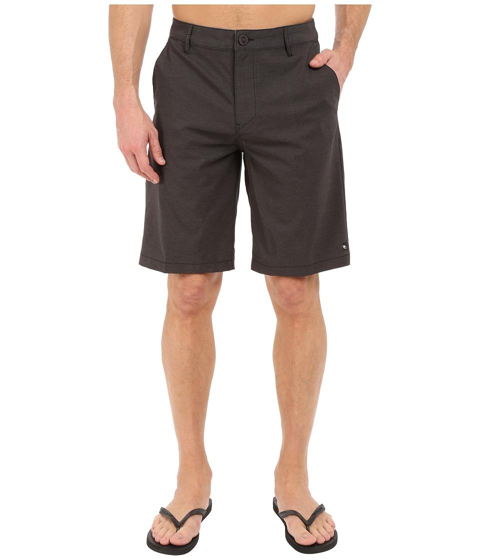 Rip Curl - Mirage Phase Boardwalk Walkshorts (Black) Men's Shorts