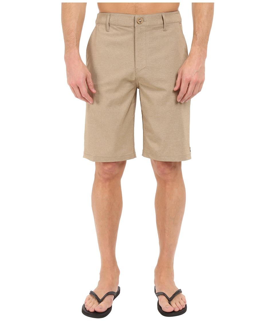 Rip Curl - Mirage Phase Boardwalk Walkshorts (Khaki) Men's Shorts