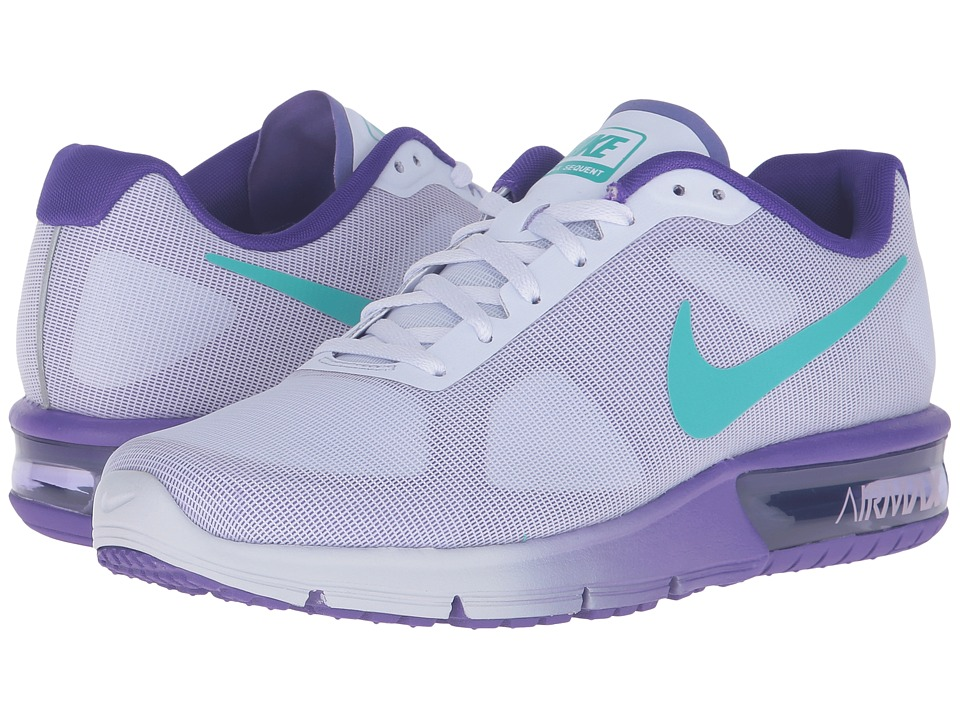 Nike - Air Max Sequent (Palest Purple/Clear Jade/Fierce Purple) Women's Running Shoes
