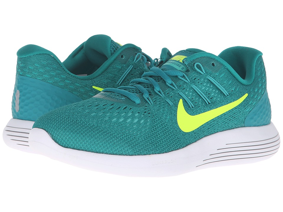 Nike - Lunarglide 8 (Rio Teal/Volt/Clear Jade/Mid Turquoise) Women's Running Shoes