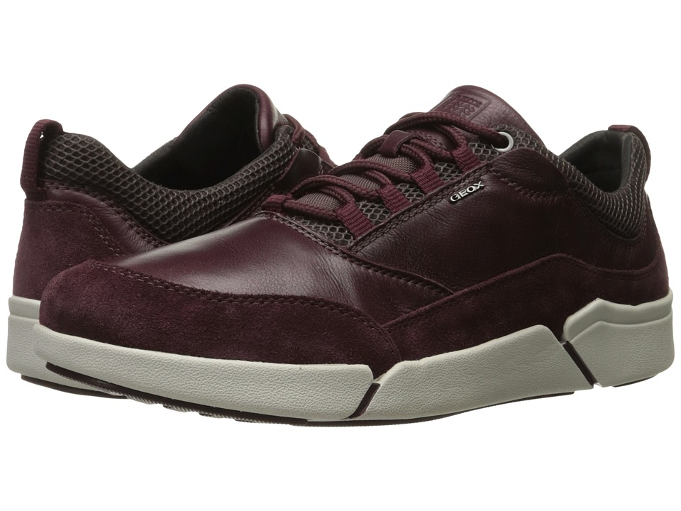 Geox - MAILAND1 (Burgundy) Men's Shoes