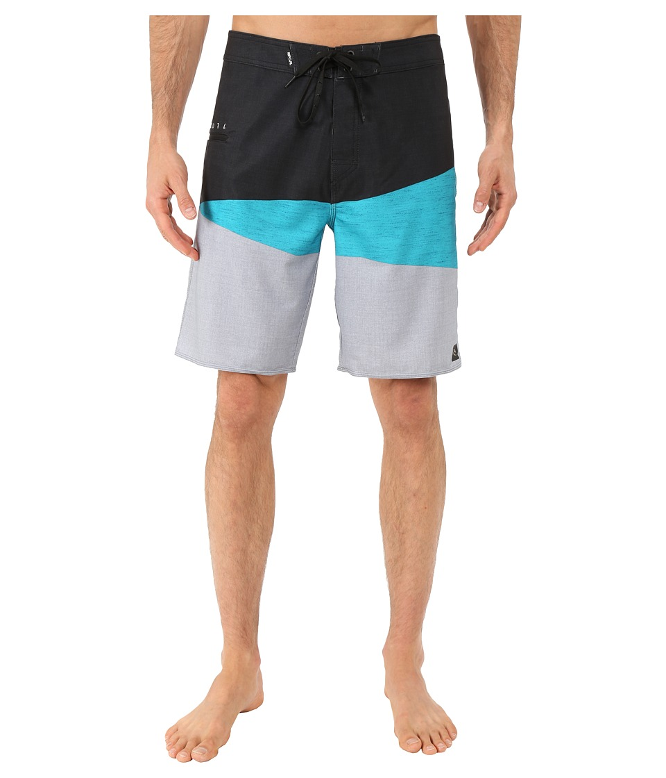 Rip Curl - Mirage Wedge Boardshorts (Black) Men's Swimwear