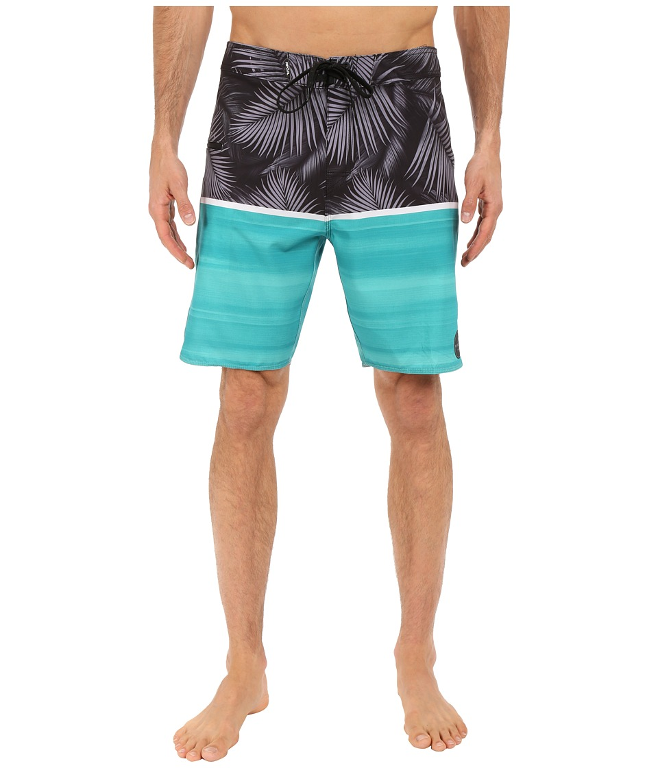 Rip Curl - Mirage Split Boardshorts (Teal) Men's Swimwear