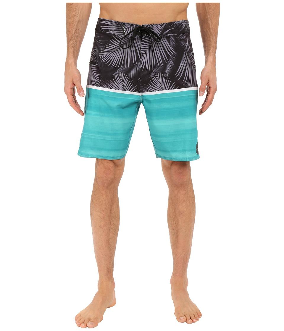 Rip Curl - Mirage Split Boardshorts (Teal) Men's Swimwear