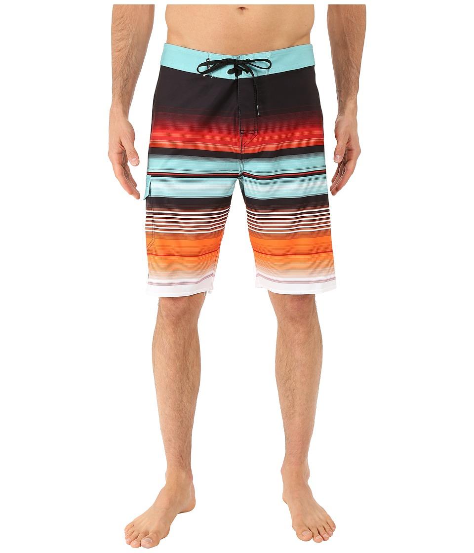 Rip Curl - Overrun Boardshorts (Orange) Men's Swimwear