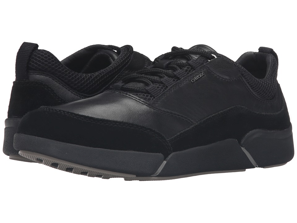 Geox - MAILAND2 (Black/Black) Men's Shoes