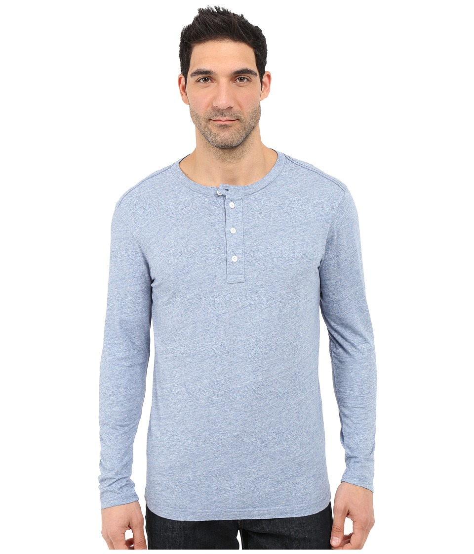 G-Star Riban Granddad Tee in Premium Compact Jersey (Sea Heather) Men