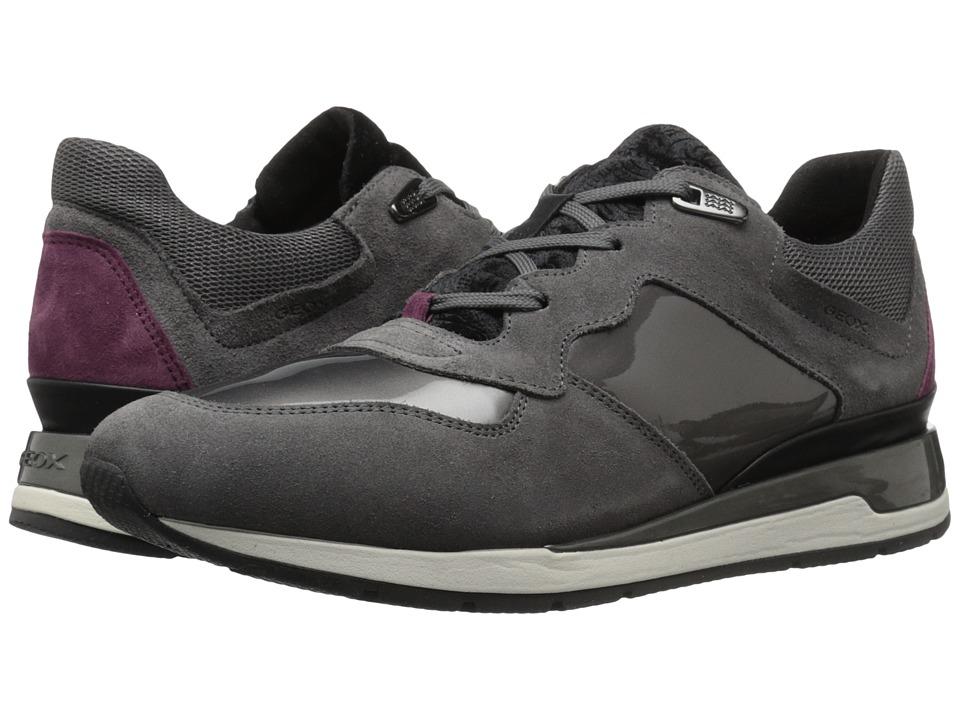 Geox - WSHAHIRA28 (Dark Grey) Women's Shoes