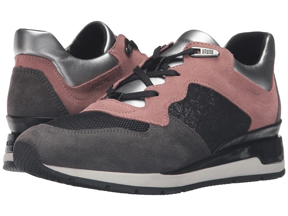 Geox WSHAHIRA27 (Old Rose/Dark Grey) Women