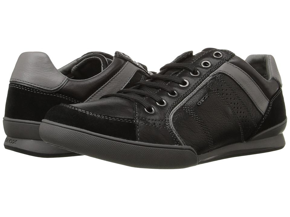 Geox - U KRISTOF3 (Black/Dark Grey) Men's Shoes