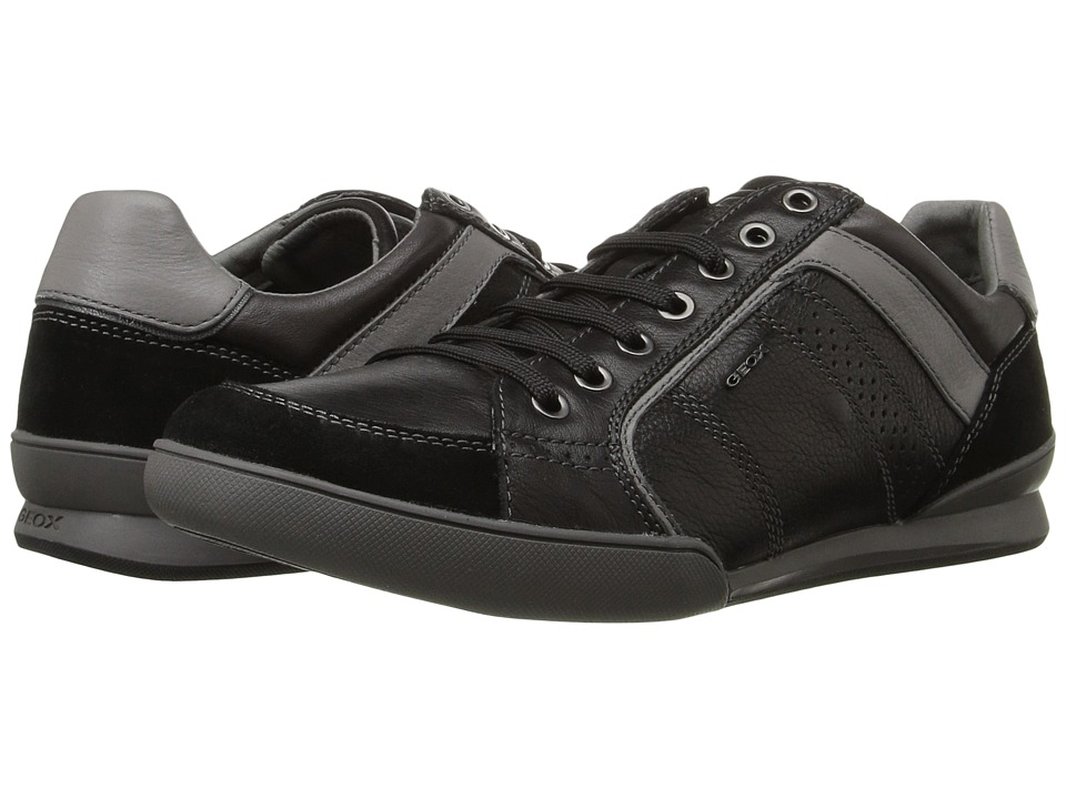 Geox U KRISTOF3 (Black/Dark Grey) Men