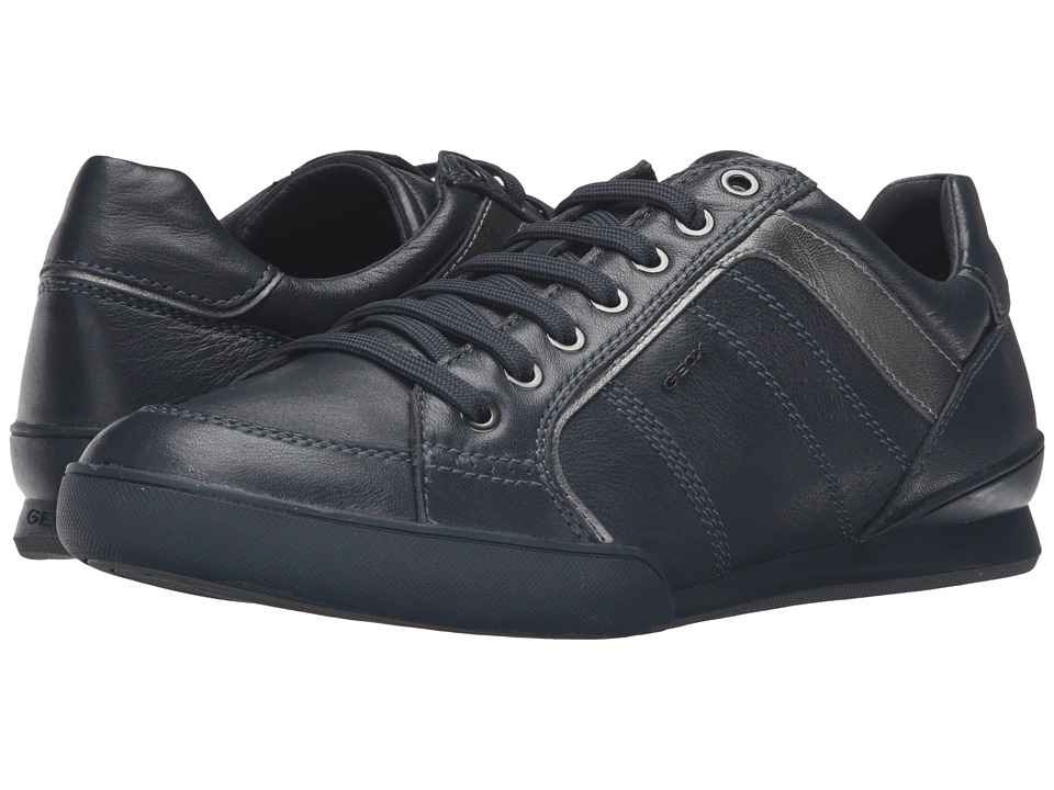 Geox - U KRISTOF4 (Navy/Gun) Men's Shoes