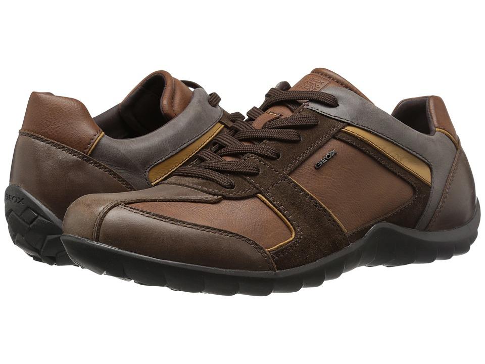 Geox - MPAVEL6 (Cognac/Dark Brown) Men's Shoes