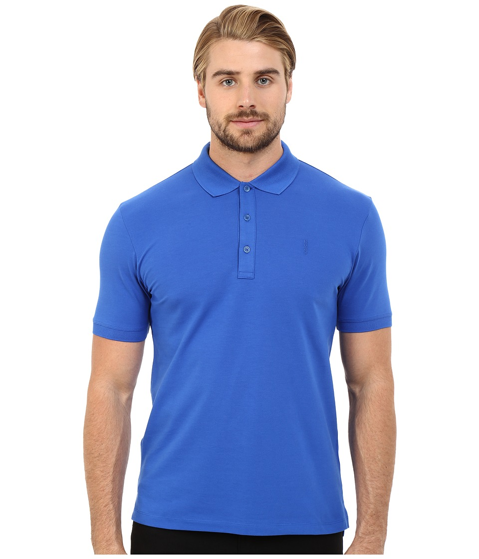 HUGO - Nono - Basic Polo (Bright Blue) Men's Clothing
