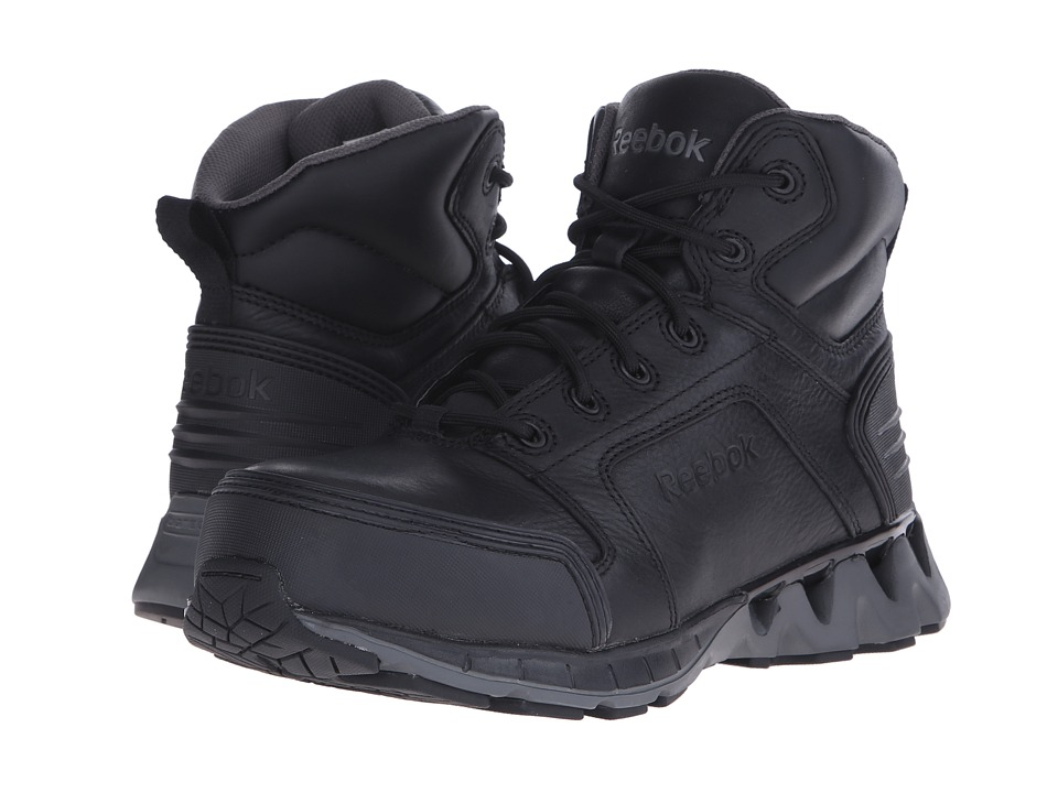 Reebok Work - Zigkick Work (Black/Grey) Men's Work Boots