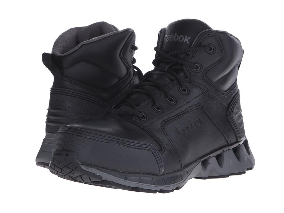 Reebok Work - Zigkick Work (Black/Grey) Men's Work Boots