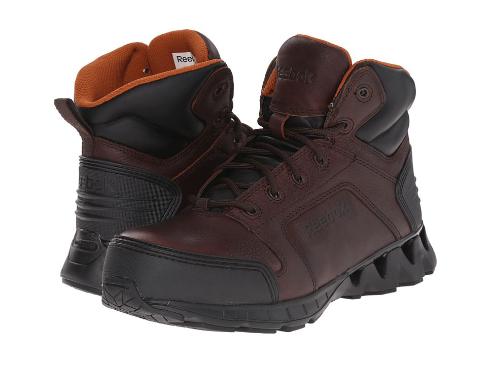 Reebok Work - Zigkick Work (Brown) Men's Work Boots