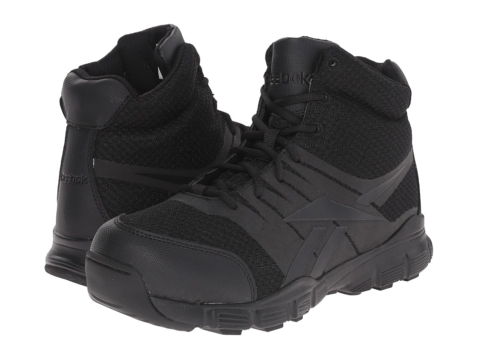 Reebok Work - Dauntless Ultra Light (Black) Men's Work Boots