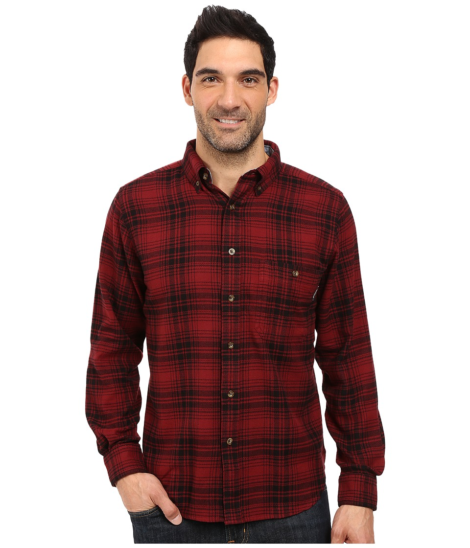 Woolrich - Trout Run Flannel Shirt (Red Hunt Plaid) Men's Long Sleeve Button Up