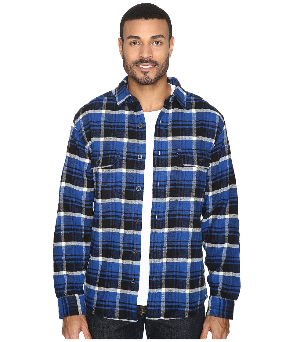 Woolrich - Oxbow Bend Flannel Shirt (Dark Cobalt) Men's Clothing