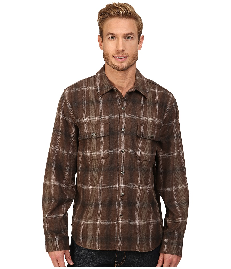 Woolrich - Bering Wool Plaid Shirt (Cabin) Men's Clothing