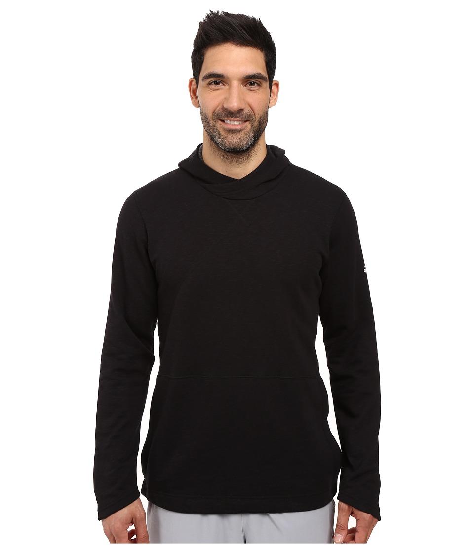adidas - Crossover Pullover Hoodie (Black) Men's Sweatshirt