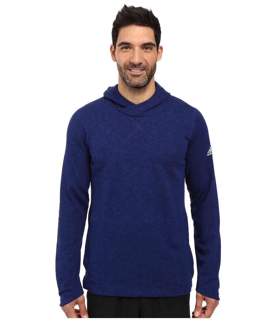 adidas - Crossover Pullover Hoodie (Unity Ink) Men's Sweatshirt
