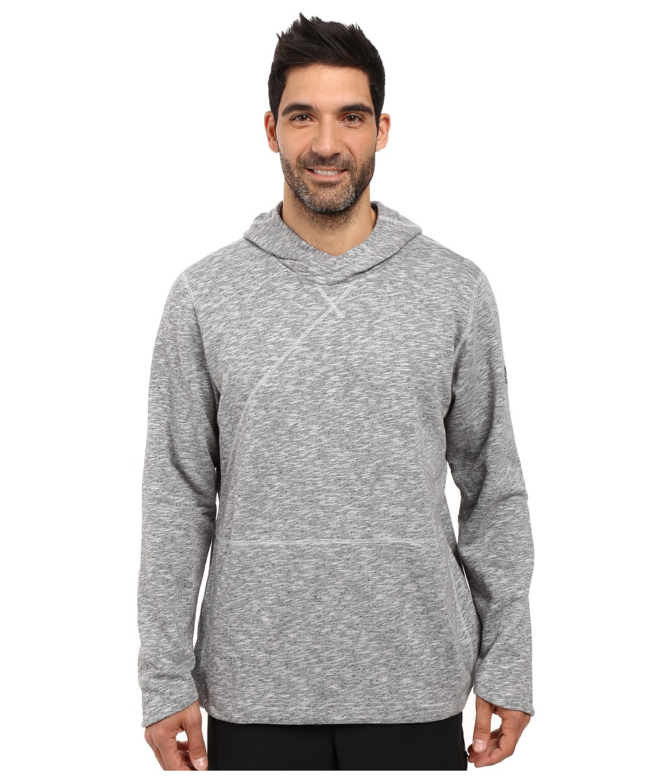 adidas - Crossover Pullover Hoodie (LGH Solid Grey) Men's Sweatshirt