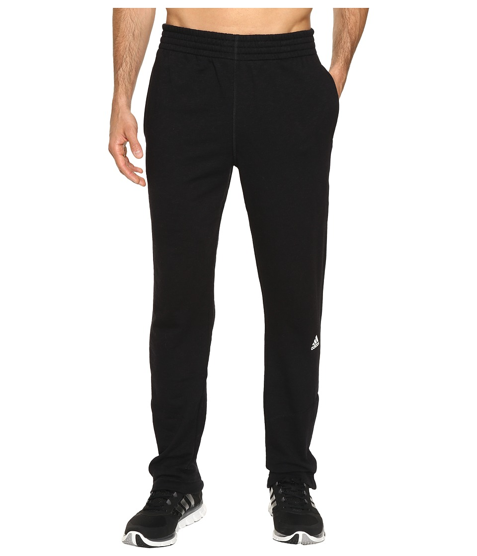 adidas - Crossover Slim Pants (Black) Men's Workout