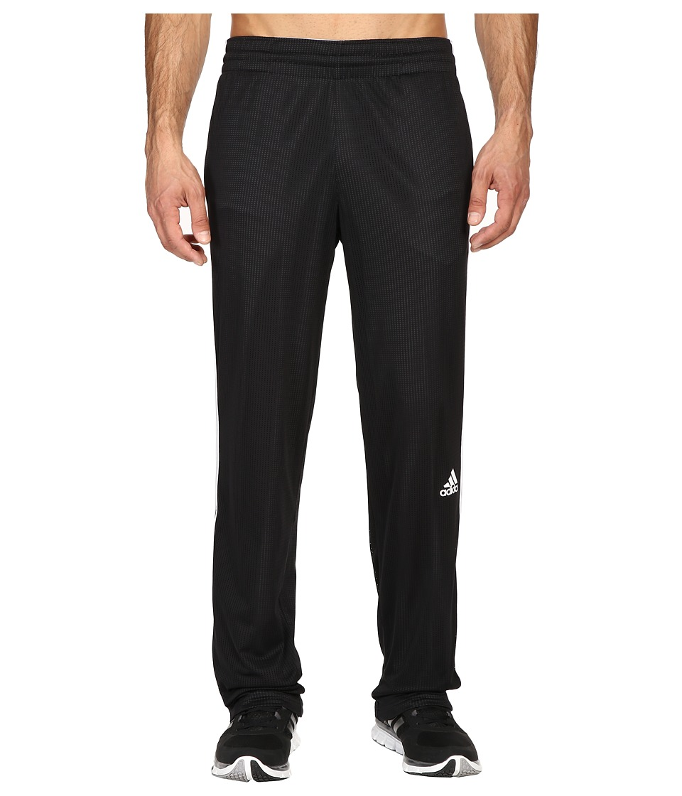 adidas - Double Up Pants (Black/White) Men's Workout