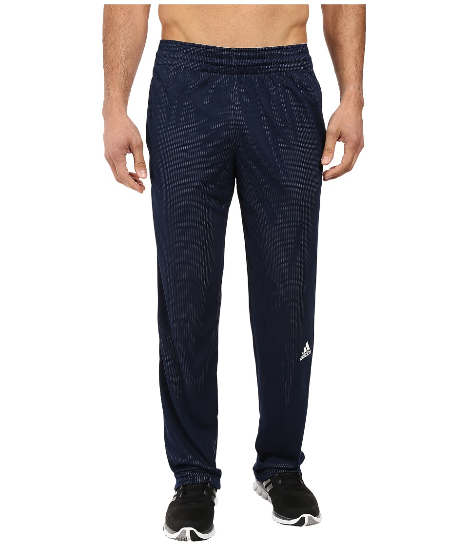 adidas - Double Up Pants (Collegiate Navy/White) Men's Workout