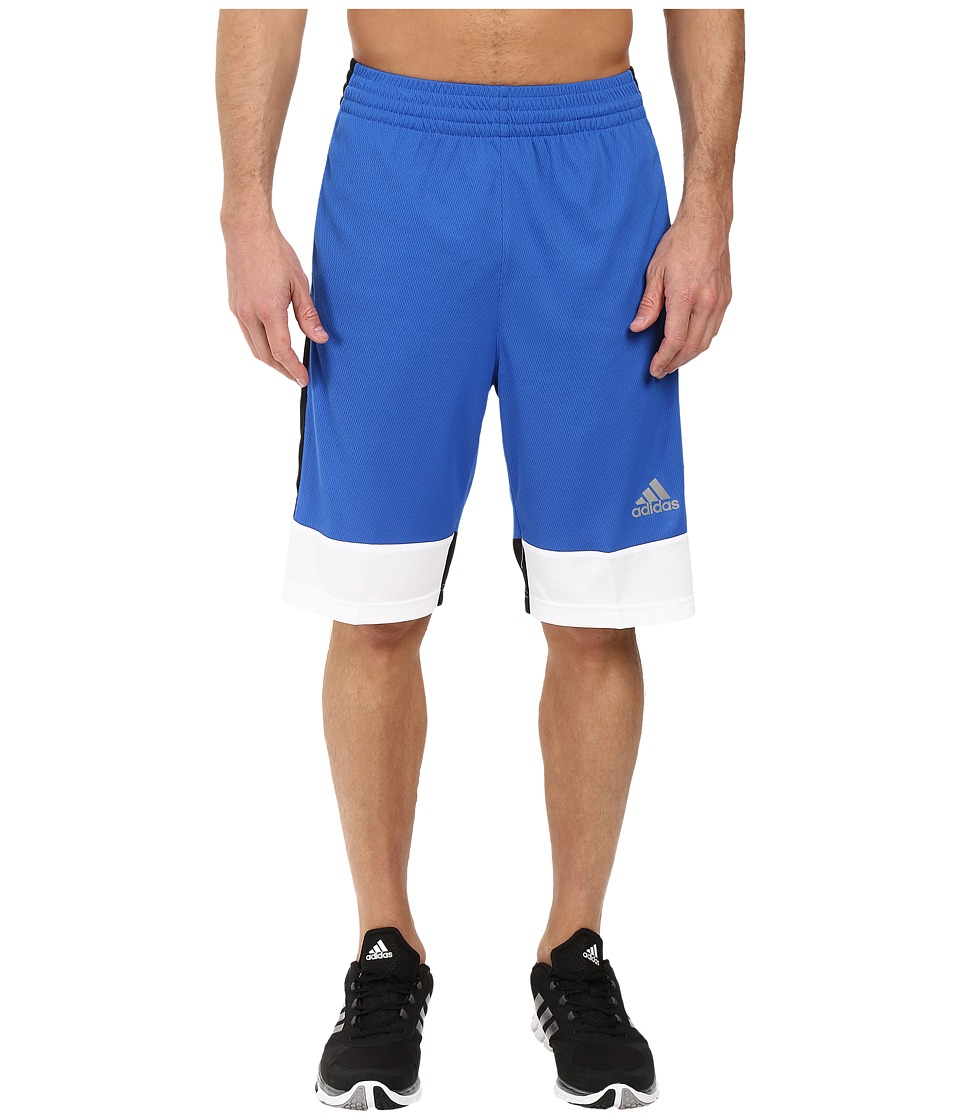 adidas - Key Item Team Shorts (Blue/Black/White) Men's Shorts