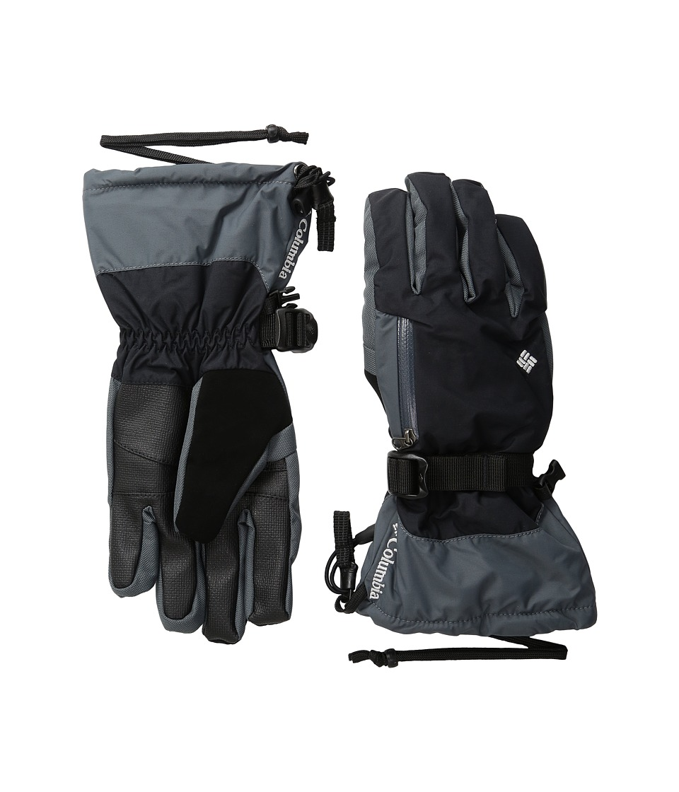 Columbia - Bugaboo Interchange Glove (Black/Graphite) Extreme Cold Weather Gloves