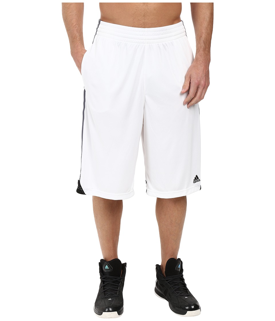 adidas - 3G Speed Short (White/Onix/Black) Men's Shorts