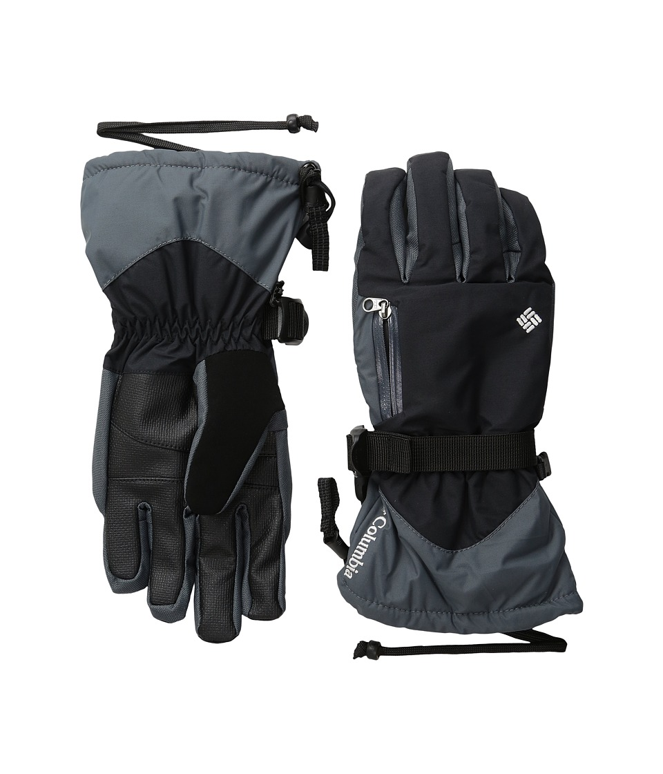 Columbia - Bugaboo Interchange Glove (Black/Graphite/White) Extreme Cold Weather Gloves