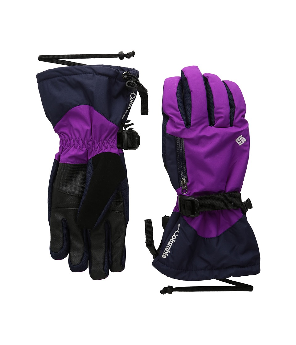 Columbia - Bugaboo Interchange Glove (Bright Plum/Ebony Blue) Extreme Cold Weather Gloves