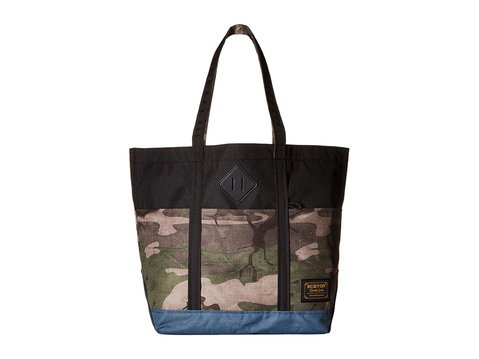 Burton - Crate Tote Medium (Bkamo Print) Tote Handbags