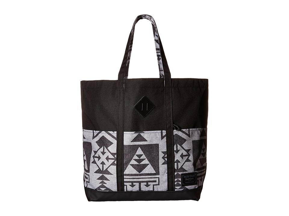 Burton - Crate Tote Large (Neu Nordic Print) Tote Handbags