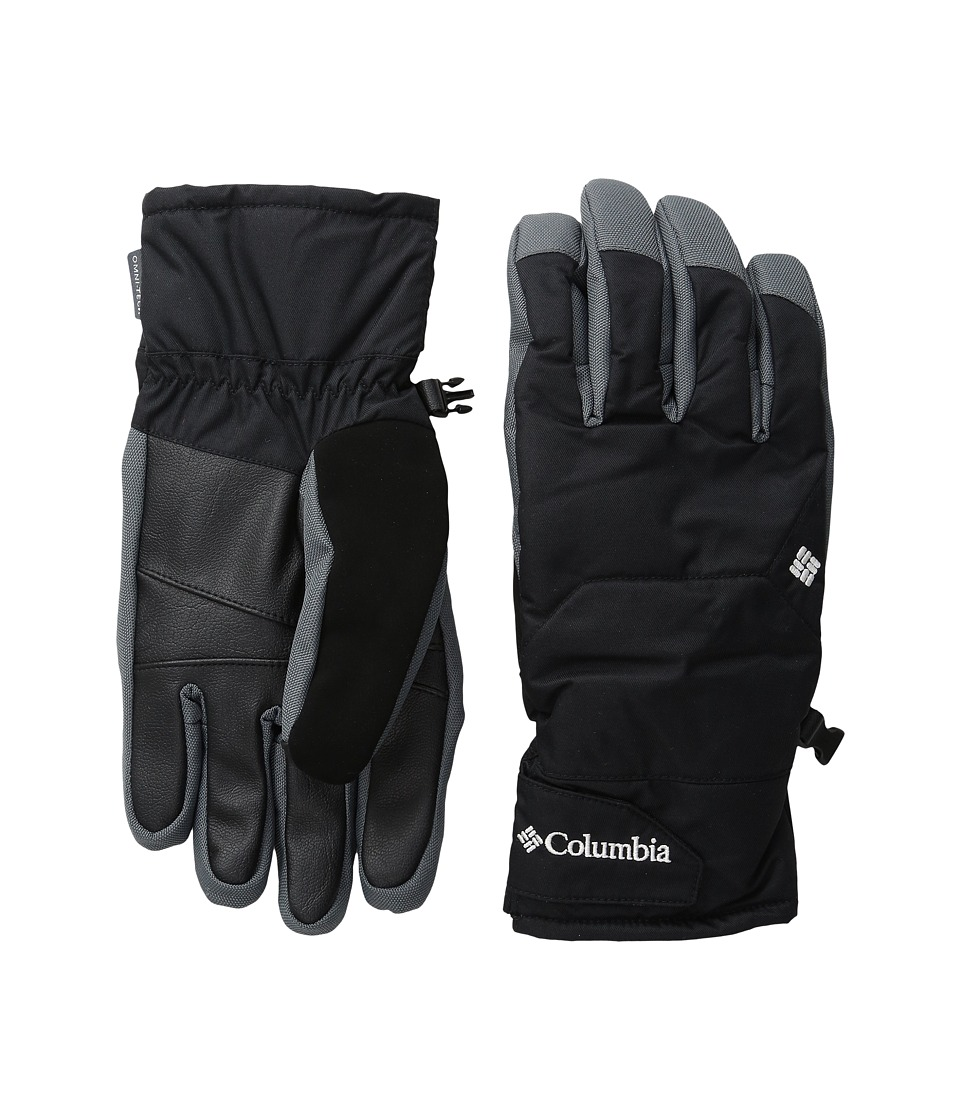 Columbia - Whirlibird Short Gloves (Black/Graphite) Ski Gloves