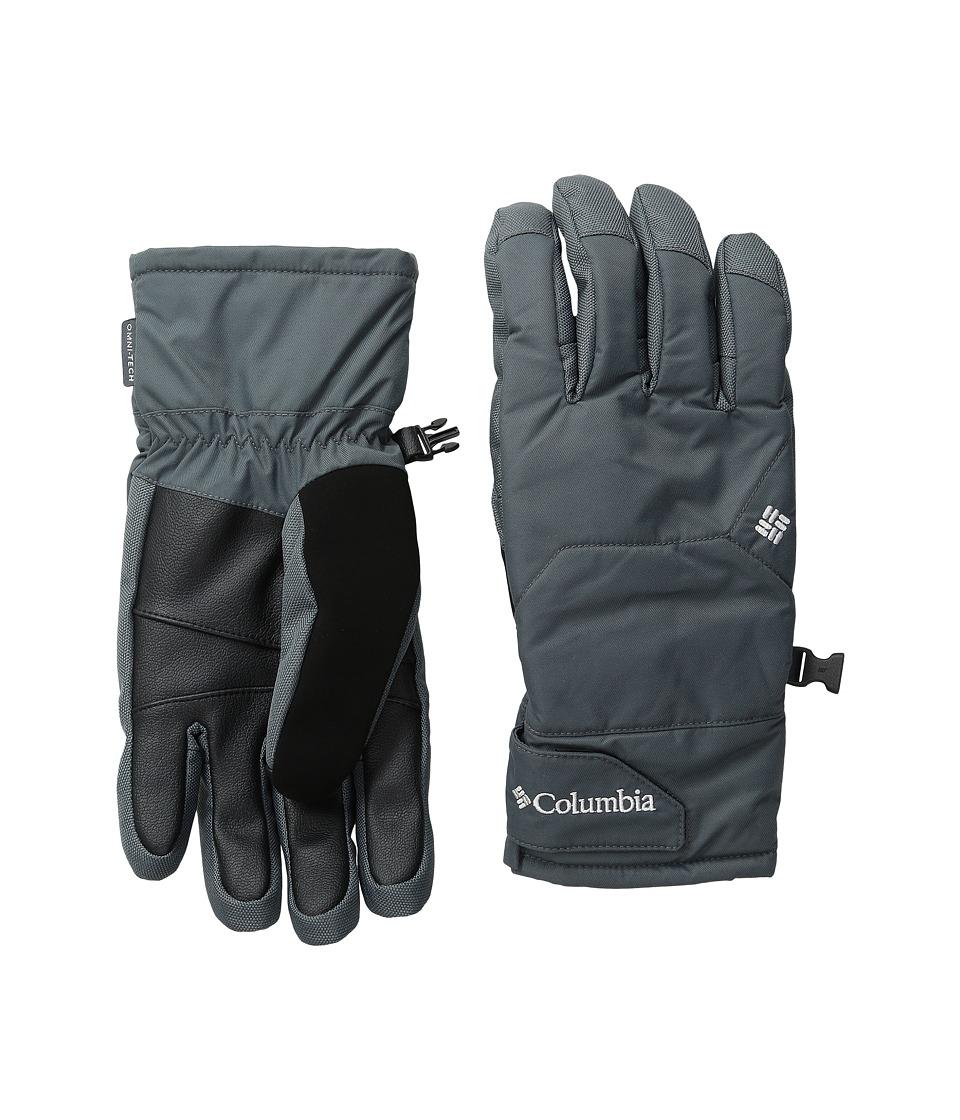Columbia - Whirlibird Short Gloves (Graphite) Ski Gloves