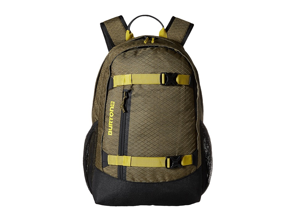 Burton - Dayhiker 25L (Jungle Heather Diamond Ripstop) Day Pack Bags
