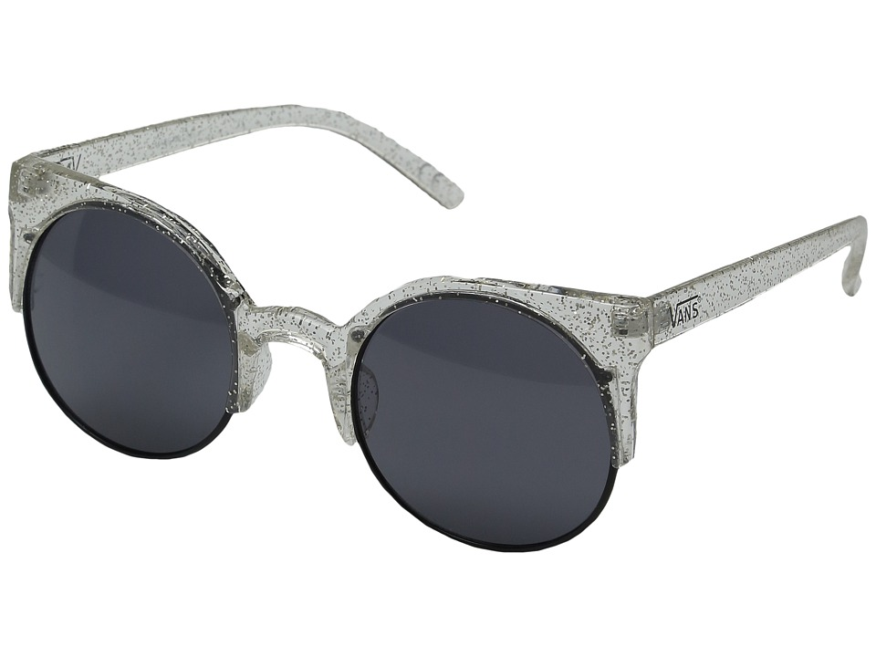 Vans - Halls Woods Sunglasses (Clear Sparkle) Sport Sunglasses
