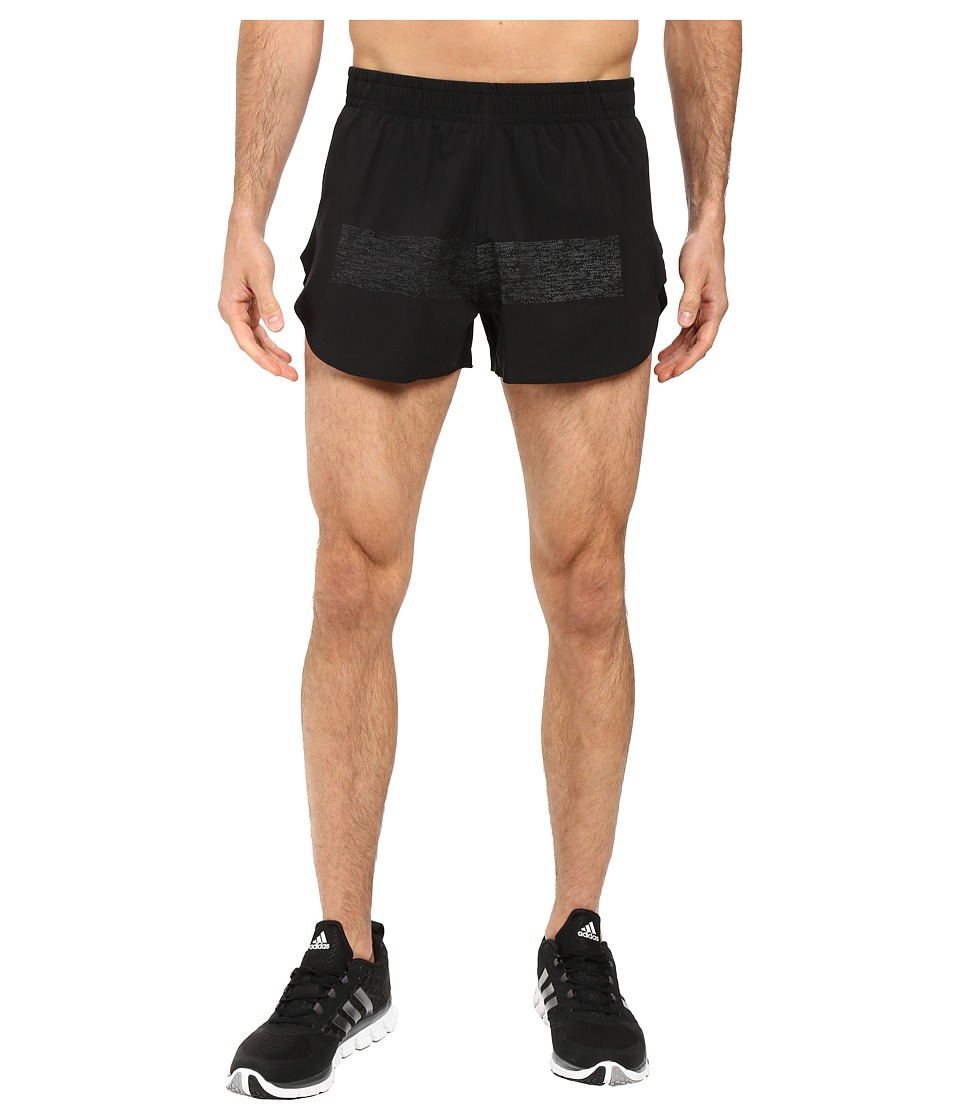 adidas - Supernova Split Shorts (Black) Men's Shorts