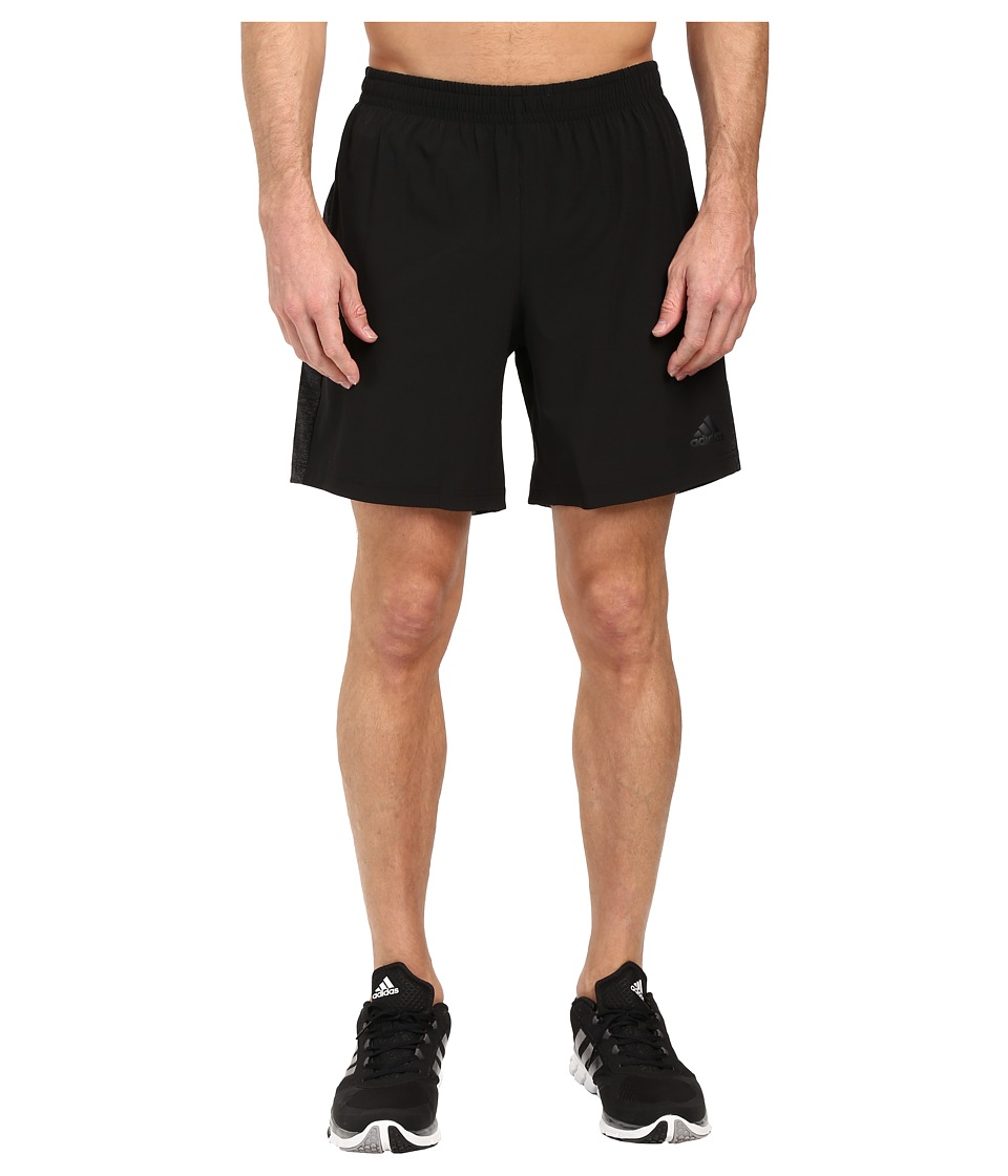 adidas - Supernova Shorts (Black) Men's Shorts