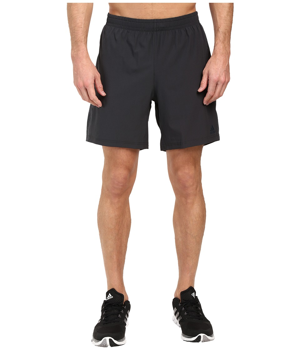 adidas - Supernova Shorts (Dark Gray) Men's Shorts