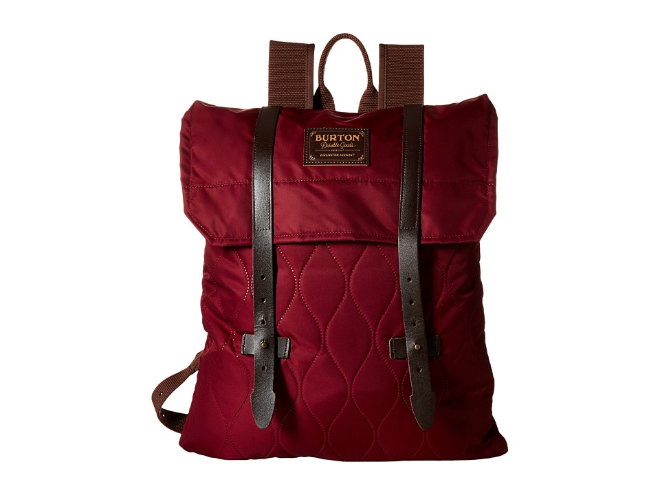 Burton - Taylor Pack (Quilted Zinfandel) Backpack Bags
