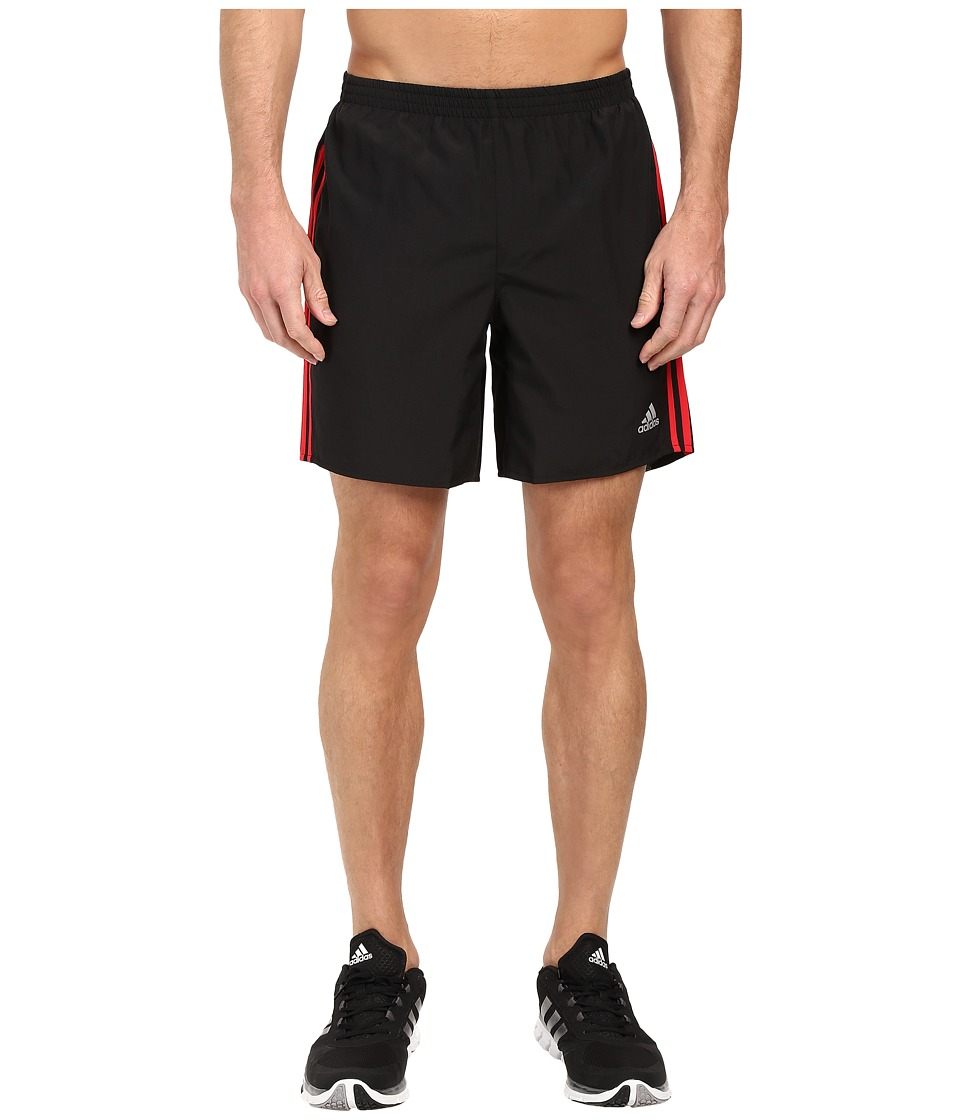 adidas - Response Shorts (Black/Ray Red) Men's Shorts