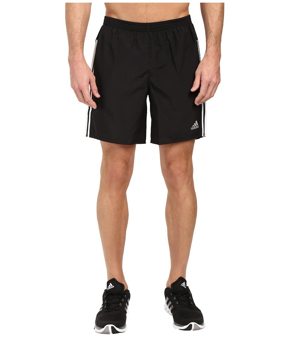 adidas - Response Shorts (Black/White) Men's Shorts