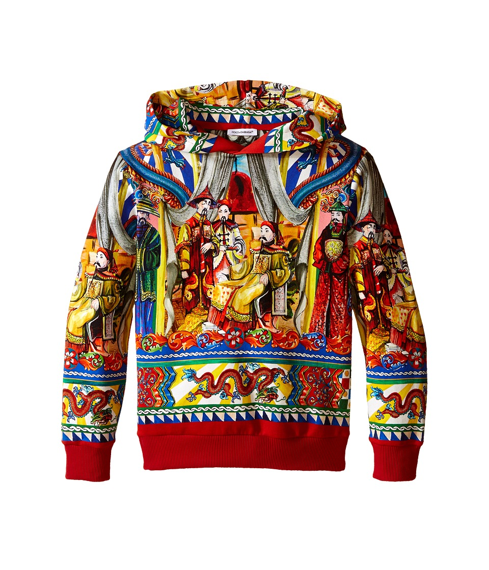 Dolce & Gabbana Kids - Theater Jacket (Toddler/Little Kids) (Blue/Print) Boy's Sweatshirt